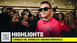 HIGHLIGHTS | Canelo vs. Sergey Kovalev: Grand Arrivals
