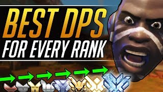 TOP DPS HEROES you MUST PLAY at Every Rank - Best Meta Tips to CARRY | Overwatch Pro Ranked Guide