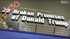 Robert Reich: Trump's 30 Biggest Broken Promises