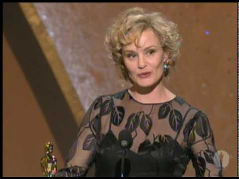 Jessica Lange Wins Best Actress: 1995 Oscars