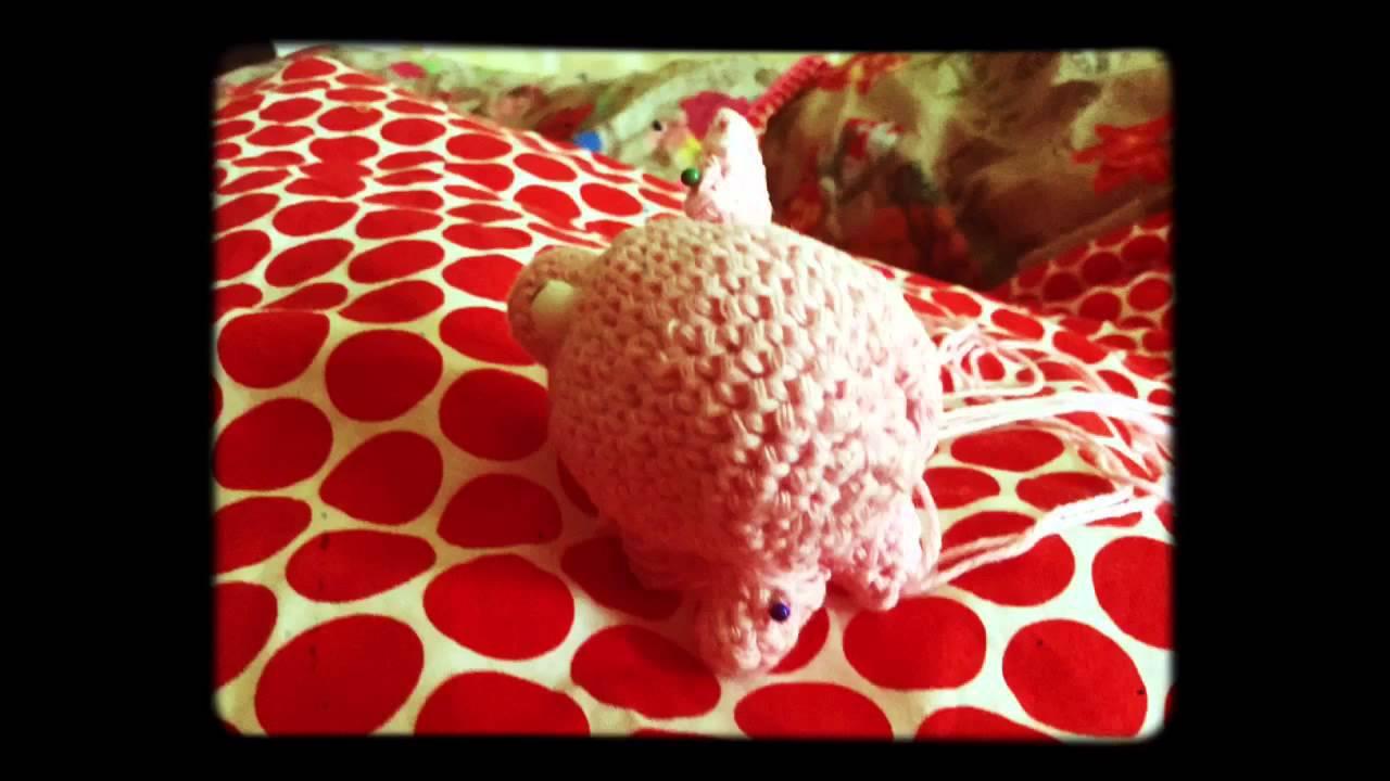 Film Zur Häkelanleitung Das Schnelle Schwein Von Wolllolli Youtube