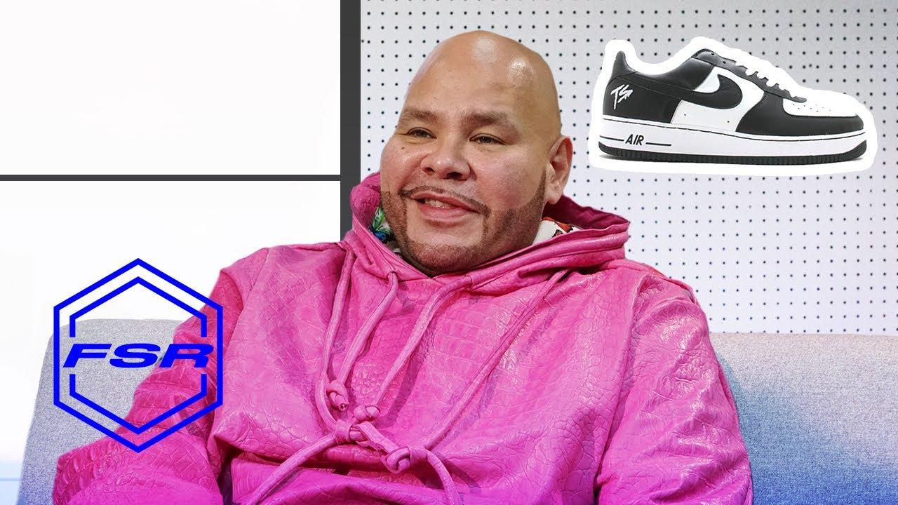 Fat Joe Reveals His Crazy Sneaker Plugs