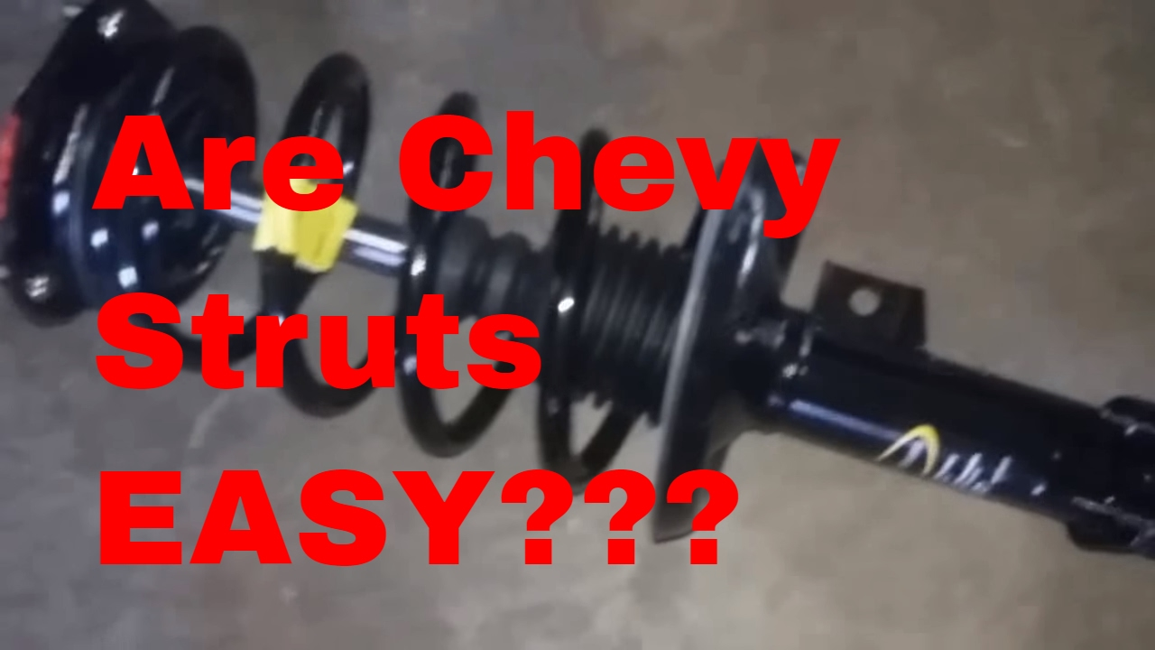 2004 chevy malibu front struts replace how to