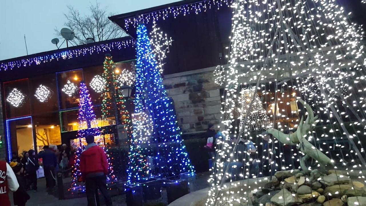 Christmas lights 2016 oglebay resort - YouTube