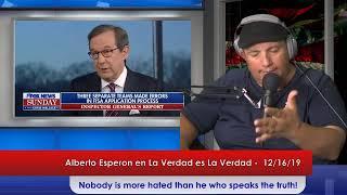 La Verdad es La Verdad - (The Truth is the Truth) 12-16-2019