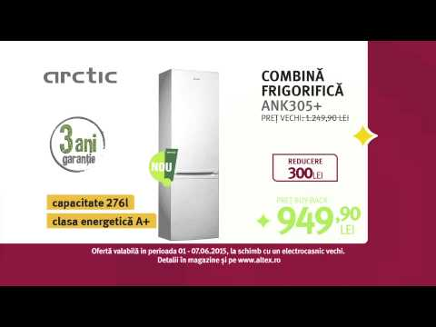 Reclamă ALTEX combină frigorifică ARCTIC iunie 2015