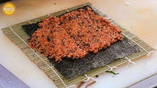 낙성대 │ 고추장 김밥 │ Gochujang Gimbap │ 한국 길거리 음식 │ Korean Street Food