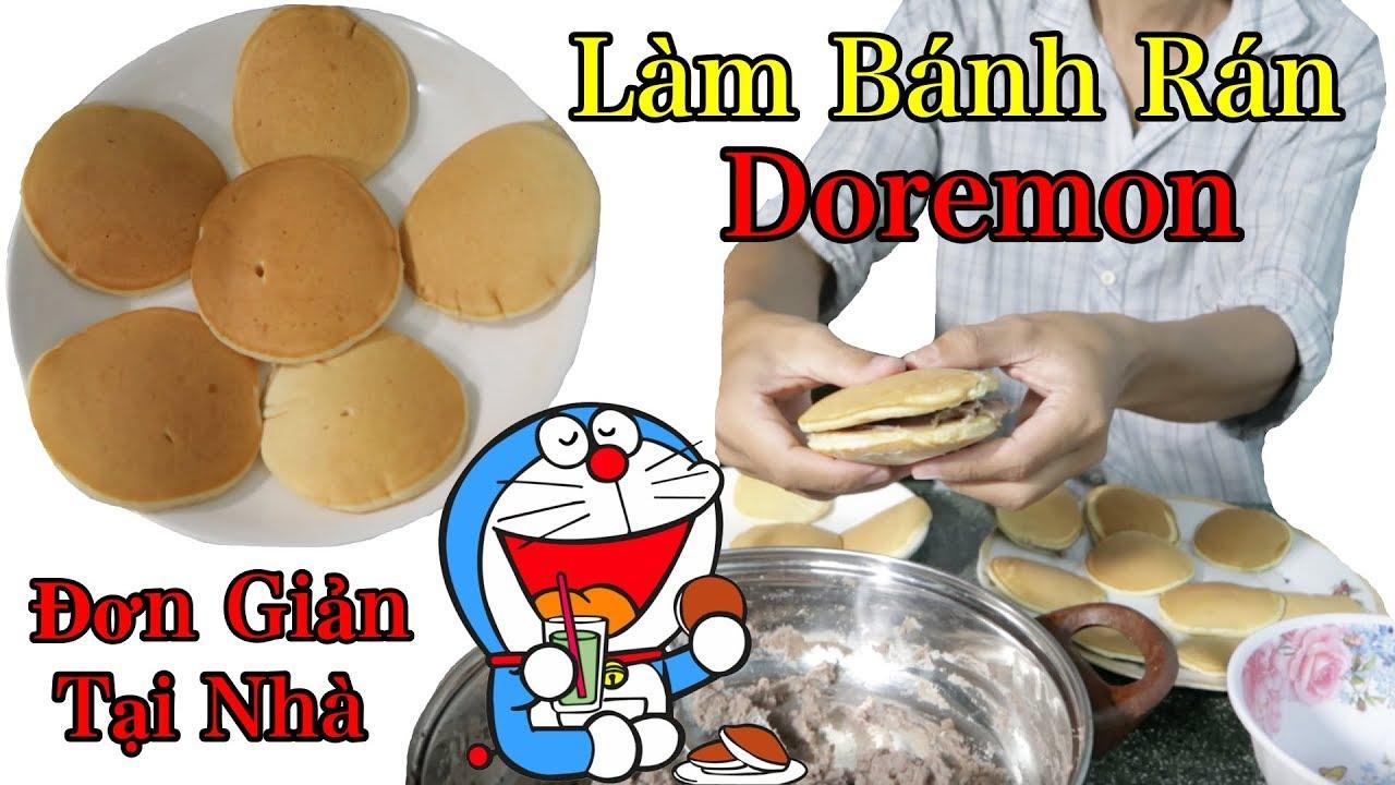 Lâm Vlog – Làm Bánh Rán Doremon Đơn Giản Tại Nhà | Bánh Dorayaki