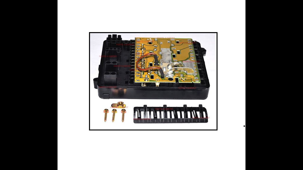 small resolution of new bmw 61131370763 genuine e23 e24 e30 318i 325i 635csi 733i l6 l7 m3 fuse box