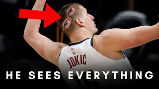 Jokic Has Eyes In The Back Of His Head - Breaking Down 7 Unbelievable Plays He Somehow Saw