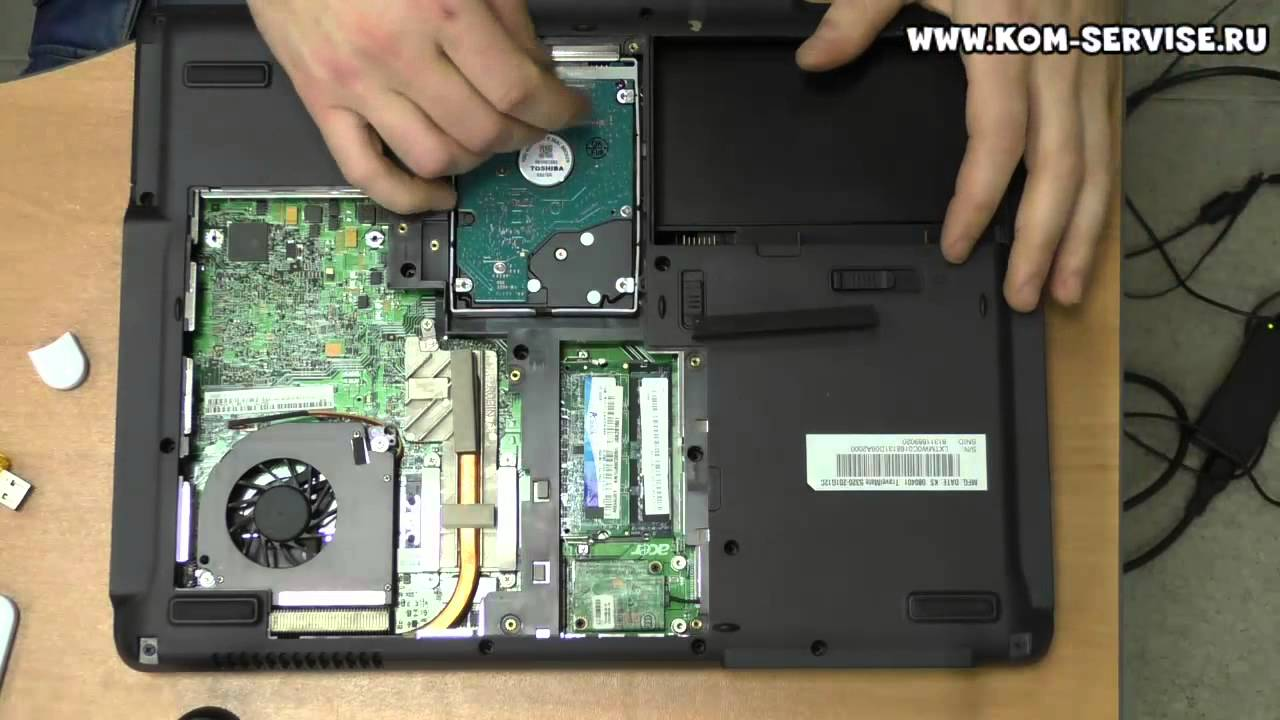 Замена видеокарты на ноутбуке - YouTube