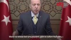 Schlägerei wegen Afrin in Hannover: Erdogan kritisiert deutsche Behörden