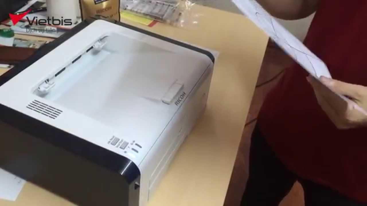 Video hướng dẫn Giới thiệu máy in Ricoh SP 210 – [VietBis.vn]