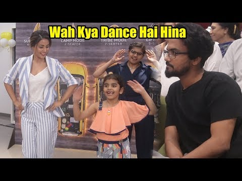 Hina Khan Live Dance With Cute Little Kids | Renault Triber Event
