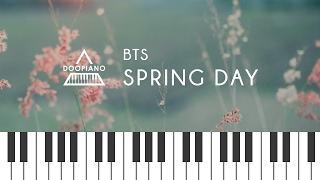 방탄소년단 (BTS) - 봄날 (Spring Day) Piano Cover