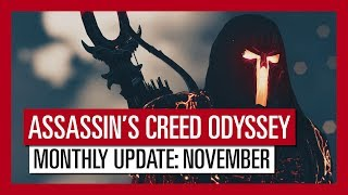 ASSASSIN'S CREED ODYSSEY: MONTHLY UPDATE: NOVEMBER
