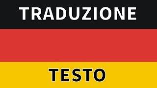 Inno della Germania - Deutschland National Anthem traduzione/sottotitoli in Italiano
