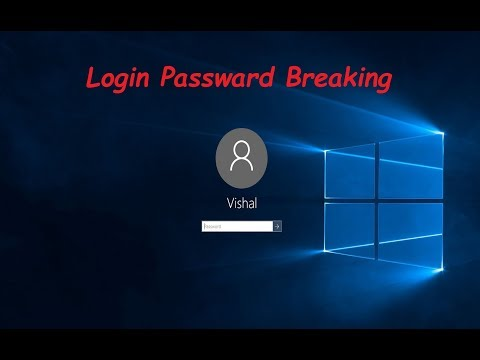 How To Break Windows Login Password Without Any Software In Windows 10?