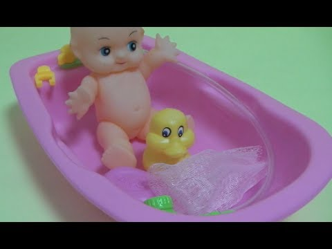 Baby Doll Bath Time Toys For Kids - YouTube