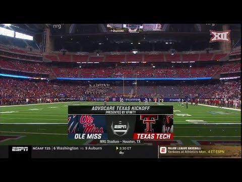 Texas Tech vs. Ole Miss Football Highlights