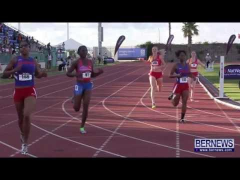 Men's & Women's 200M Finals At Island Games, July 18 2013