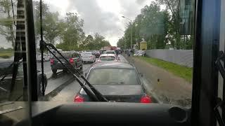 Авария на петергофское шоссе