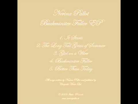 Nerina Pallot - Better Than Today - Buckminster Fuller EP