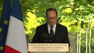 François Hollande announces the creation of a Foundation in memory of the victims of slavery