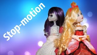 "Stop-motion ""Школьная Жизнь"" 3 серия ""Общежитие"" ( Monster High and EAH)"