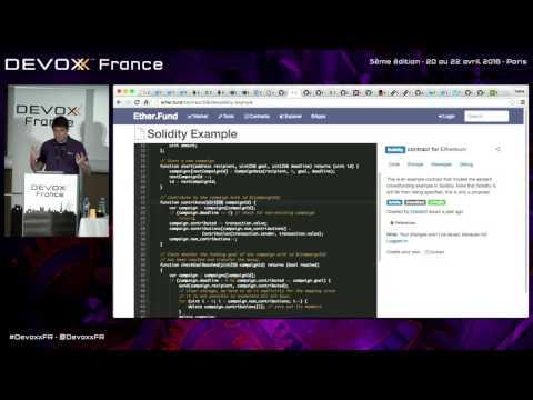 Développez une application décentralisée sur la blockchain avec Ethereum et Embark (P. Antoine)