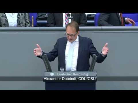 Generalaussprache zur Regierungspolitik - Alexander Dobrindt (CDU/CSU)