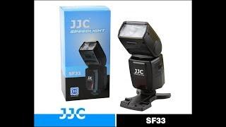 JJC SF33 Manual Camera Flash Speedlite For Nikon Canon Unboxing amp Review by Venkateshh