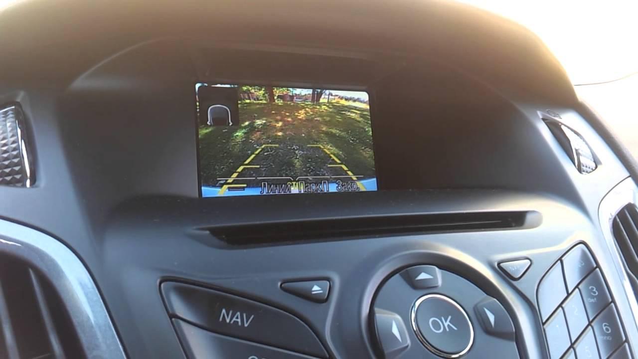 камера заднего вида ford focus 3 хэтчбек