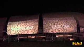 MEGALUME - Projeção Mapeada - Dia mundial da água - Arena das Dunas