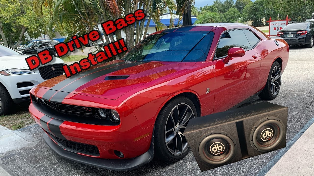 Dodge Challenger Scat Pack DB Drive System Install, 3k 10'' Subs and Wdx  3000 1 Amplifier