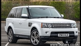 2013 13 LAND ROVER RANGE ROVER SPORT 3 0 SDV6 HSE Black Edition Auto full video