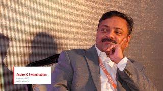 Aspire K Swaminathan   Aspire Ventures   ICTACT Bridge 2015 - Coimbatore