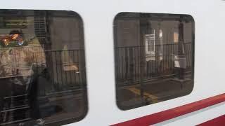北越急行「ほくほく線」快速 越後湯沢行きがまつだい駅を発車