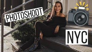PHOTOSHOOT IN NYC & NATIONAL HISTORY MUSEUM WITH MY FAMILY! | VLOG | NOV 29