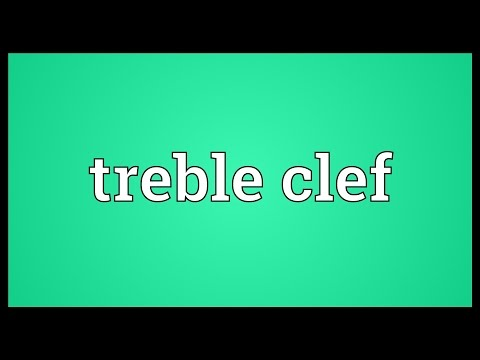 Treble clef Meaning