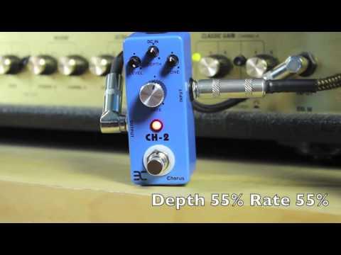 Eno Chorus CH-2 (Boss CH-2 Clone) Guitar Pedal Demo Video TC-51