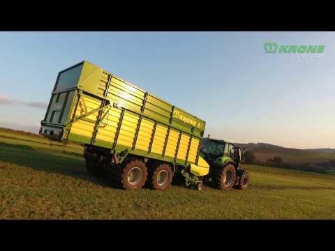 Der neue KRONE AX Lade- und Häckseltransportwagen
