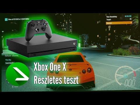 Részletes bénáskodás :D | Xbox One X Gaming, Multimedia & OS teszt videó
