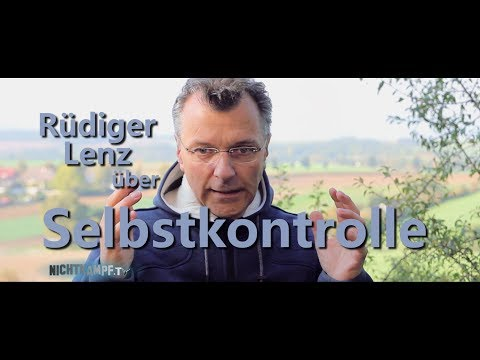 Rüdiger Lenz über Selbstkontrolle | Nichtkampf.tv - THEMA