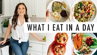 What I Eat In a Day - Healthy Eating During Pregnancy (1st Trimester)