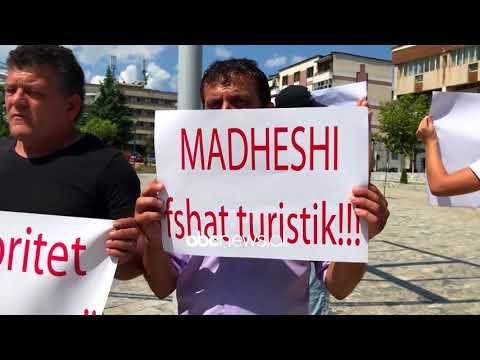 Ndertimi i HEC-it ne Madhesh te Matit, banoret proteste para bashkise| ABC News Albania
