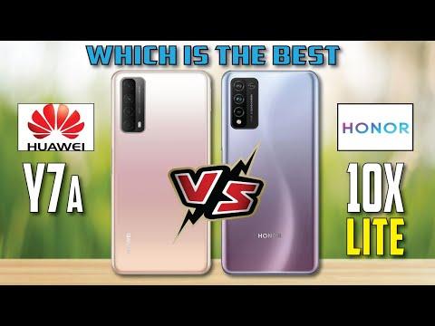 Huawei Y7a vs Honor 10X lite || Full Comparison