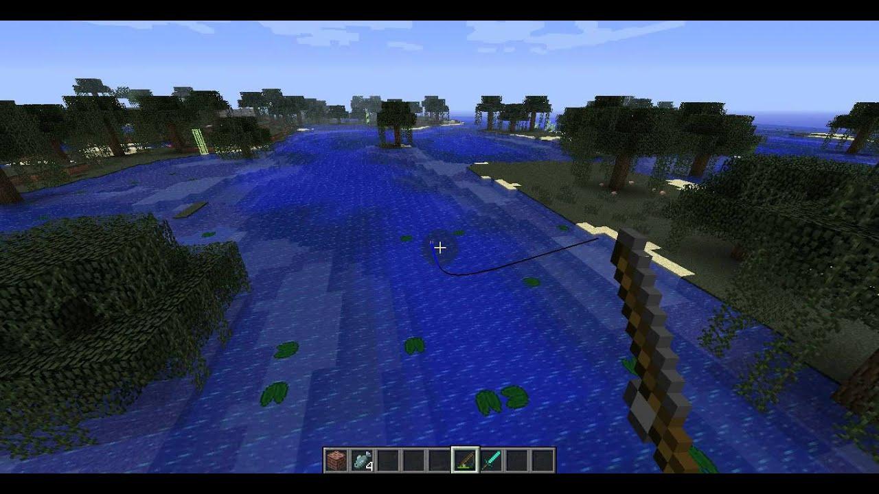 Comment pecher un poisson dans minecraft - Comment pecher dans un port ...