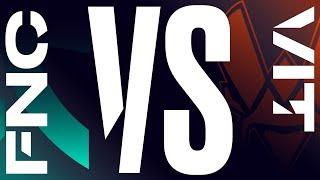 FNC vs. VIT - Week 9 Day 2   LEC Spring Split   Fnatic vs. Vitality (2020)