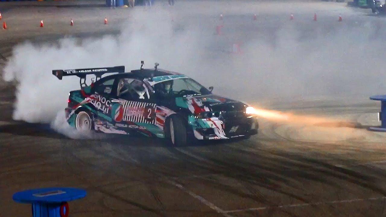 Othman Al Takreeti Red Bull Car Park Drift Jordan Bmw